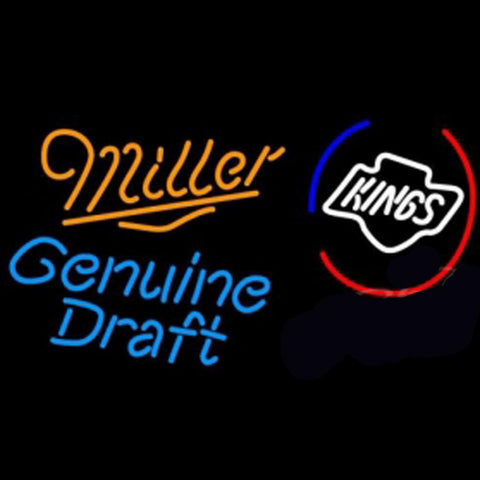 Miller Los Angeles Kings Beer Light Neon