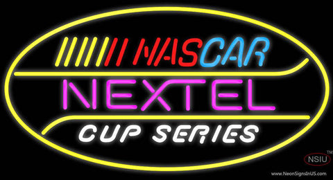 Nascar Nextel Cup Series Real Neon Glass Tube Neon Sign