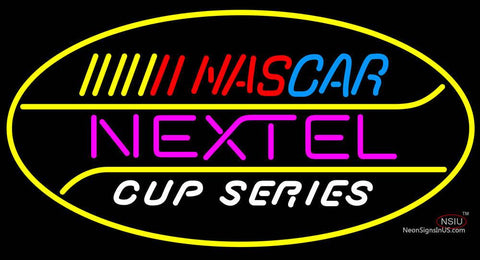 Nascar Nextel Cup Series Neon Sign