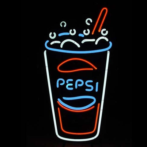 New Pepsi Coca Cola Coke Soda Beer Bar Pub Neon Light Sign