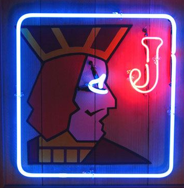 twin peaks One Eyed Jacks Handmade Art Neon Signs