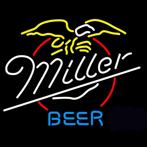 Miller Eagle Beer Neon Sign