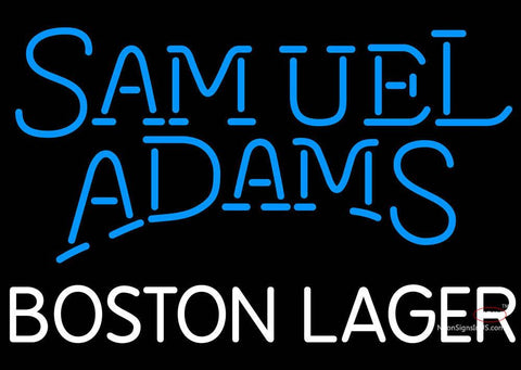 Samuel Adams Boston Lager Neon Beer Sign