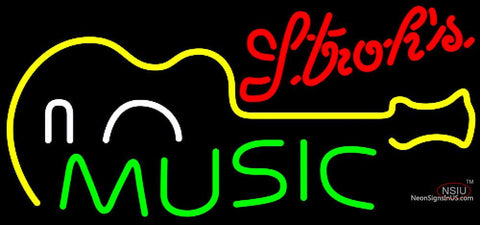 Strorhs Music Guitar Neon Sign