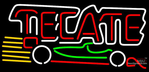 Tecate Indy Car Neon Beer Sign