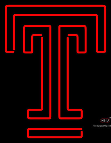 Temple Owls Alternate 7  Logo NCAA Neon Sign