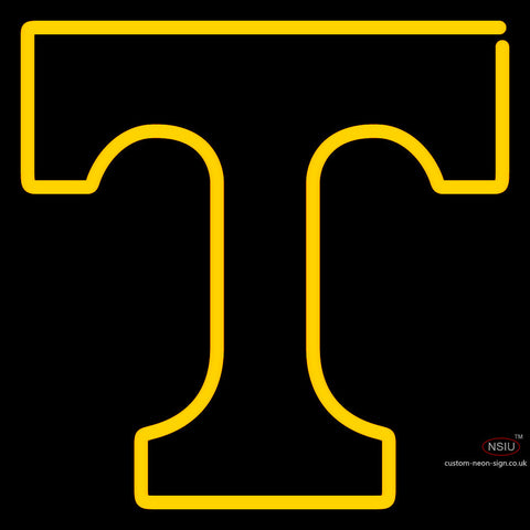 Tennessee Volunteers Primary 7  Logo NCAA Neon Sign x