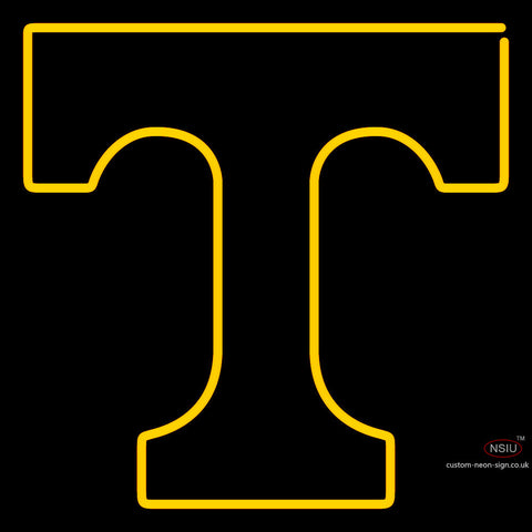Tennessee Volunteers Primary 7  Logo NCAA Neon Sign