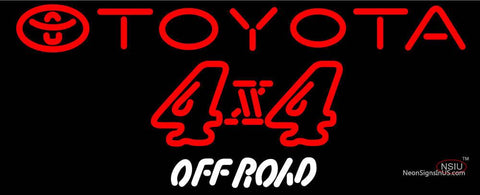 Toyota  X  Off Road Neon Sign