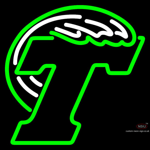 Tulane Green Primary  Pres Logo NCAA Neon Sign x