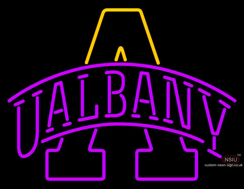 Ualbany Great Danes Team Neon Sign