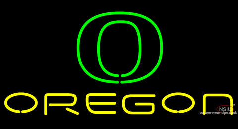 University Of Oregon Neon Sign