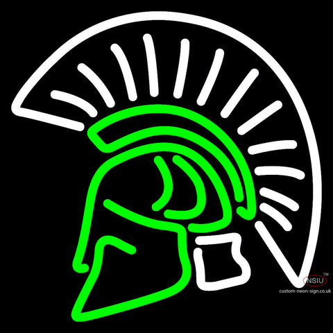 Usc Upstate Spartans Secondary  Pres Logo Ncaa Neon Sign x
