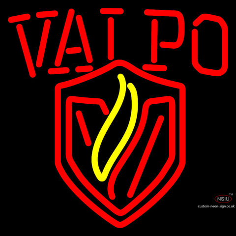 Valparaiso Crusaders Alternate  Pres Logo Ncaa Neon Sign x