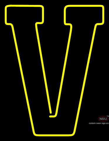 Vanderbilt Commodores Alternate  Pres Logo Ncaa Neon Sign