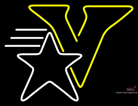 Vanderbilt Commodores Primary   Logo Ncaa Neon Sign