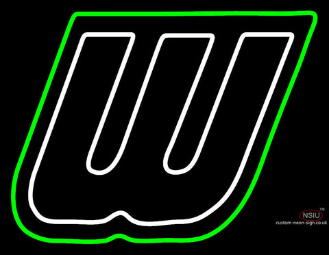 Wagner Seahawks Secondary  Pres Logo Ncaa Neon Sign