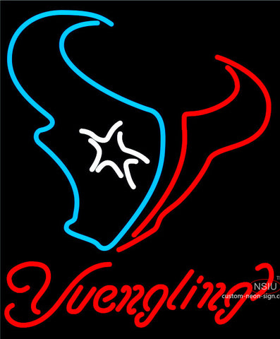 Yuengling Houston Texans NFL Beer Neon Sign