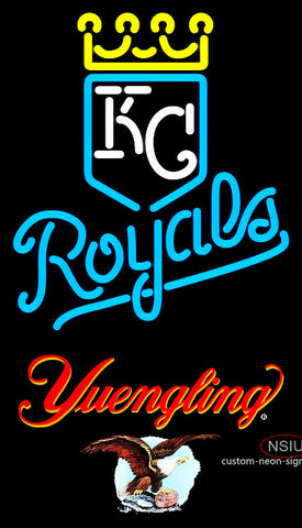 Yuengling Kansas City Royals MLB Neon Signs