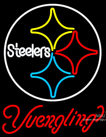 Yuengling Pittsburgh Steelers NFL Beer Neon Sign