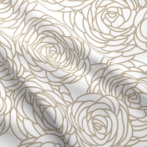 Seamless Bouquet White