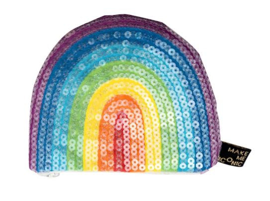 Iconic Rainbow Sequin Purse