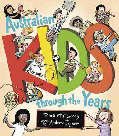 Australian Kids Through the Years Paperback