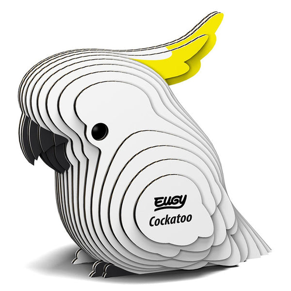 Cockatoo 3D Cardboard Model Kit