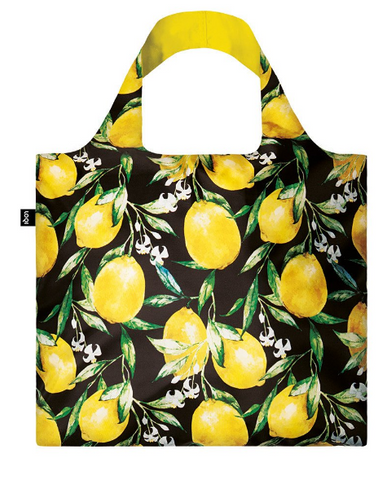 LOQI Juicy Lemons Shopping Bag Collection