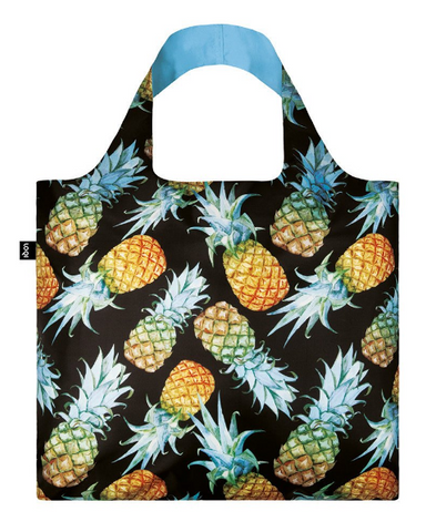LOQI Juicy Pineapples Shopping Bag - Juicy Collection