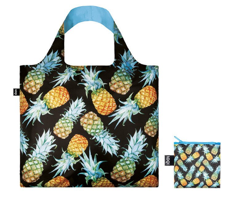 LOQI Juicy Pineapples Shopping Bag Juicy Collection