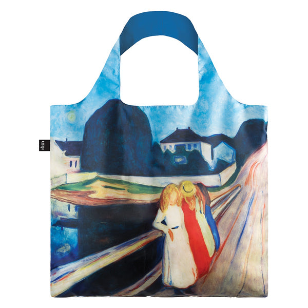 Four Girls On The Bridge Shopping Bag Museum Collection Edvard Munch