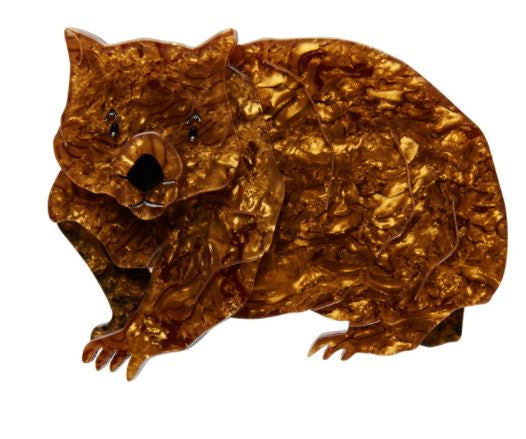 Erstwilder Pot-Belly Patrick Wombat Brooch