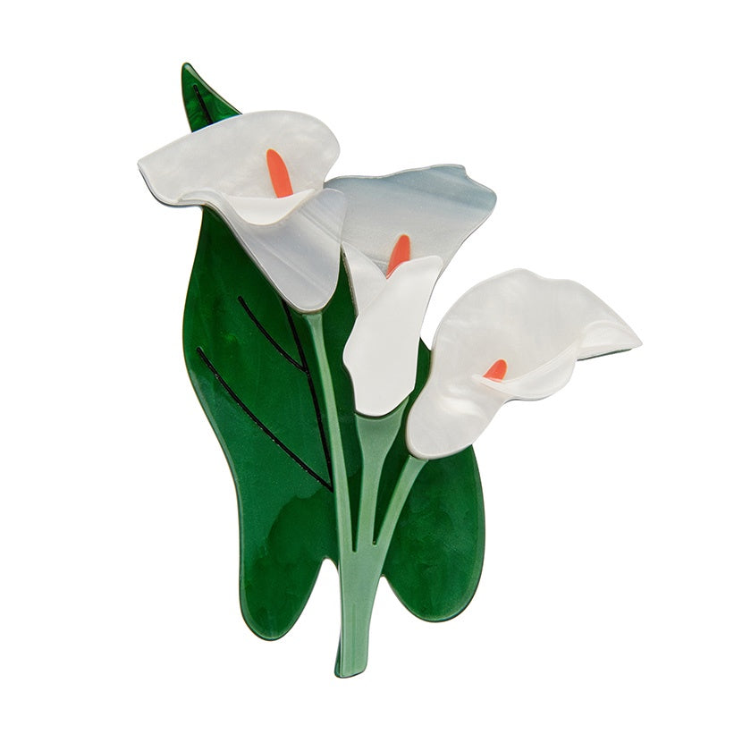 Erstwilder Beauty Blooms Lily Brooch