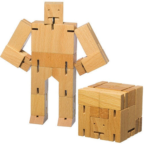 Cubebot Small Natural Beech