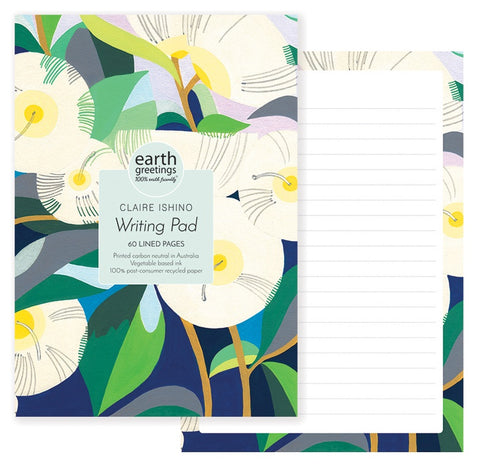 A5 Writing Pad Lemon Scented Gum