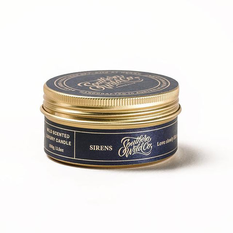 Sirens Travel Candle 100g
