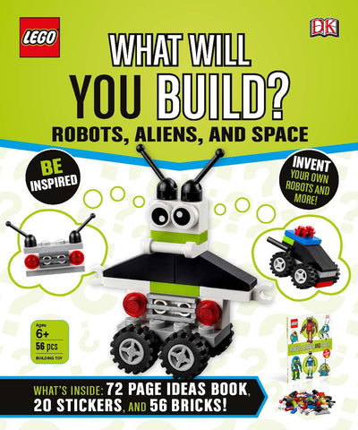 What Will You Build? Robots, Aliens and Space