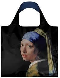 Vermeer Pearl Earring Shopping Bag Museum Collection