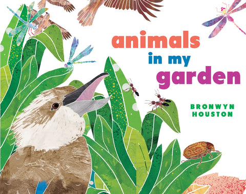 Animals In My Garden Board Book