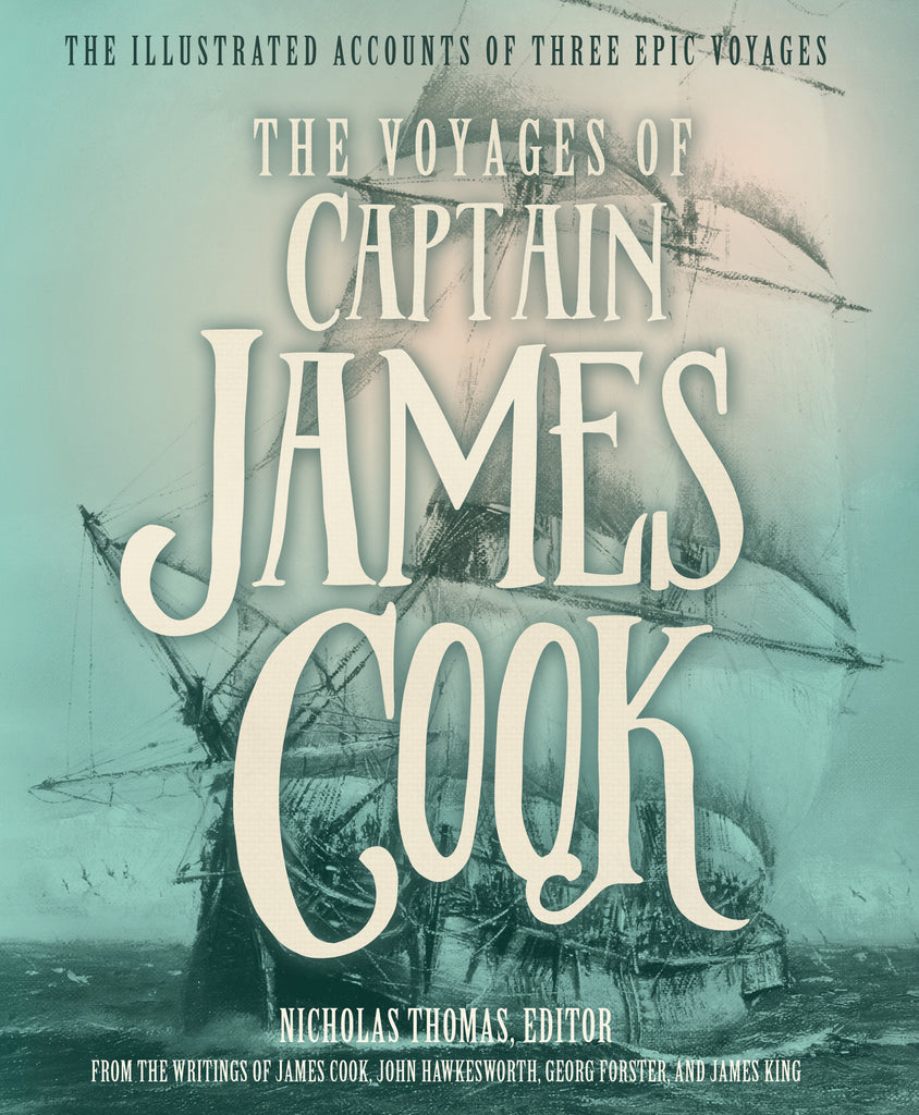 **DAMAGED DUST COVER** The Voyages Of Captain James Cook