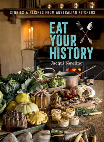 Eat Your History with Bonus Susannah Place Tea Towel