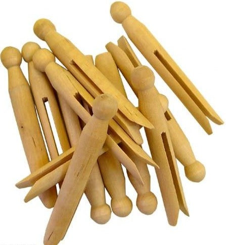 Dozen Dolly Pegs
