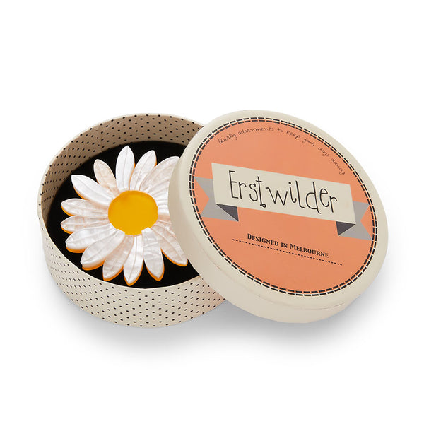 Erstwilder She Loves Me Daisy Brooch