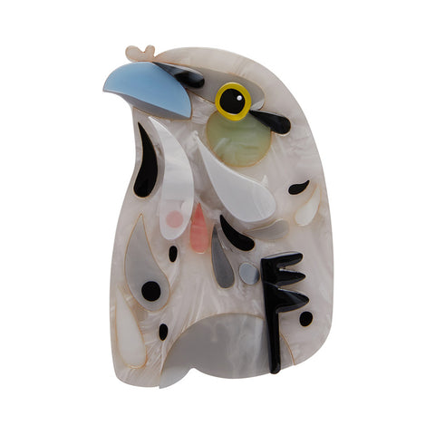 Erstwilder x Pete Cromer The Thoughtful Tawny Brooch