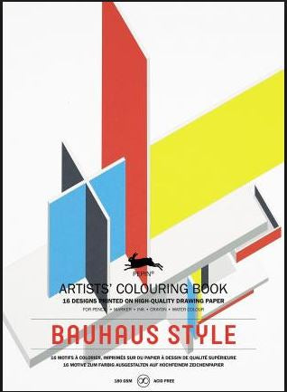 Colouring Book Bauhaus Style