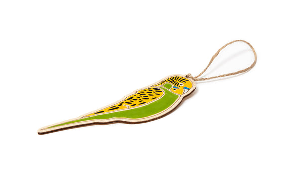 Budgerigar Ornament
