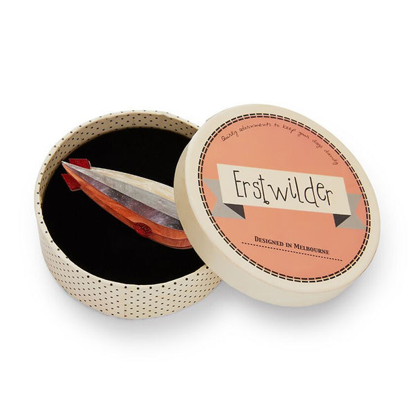 Erstwilder Dirigible Decor Zepplin Brooch