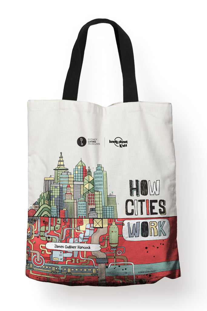 How Cities Work Tote Bag
