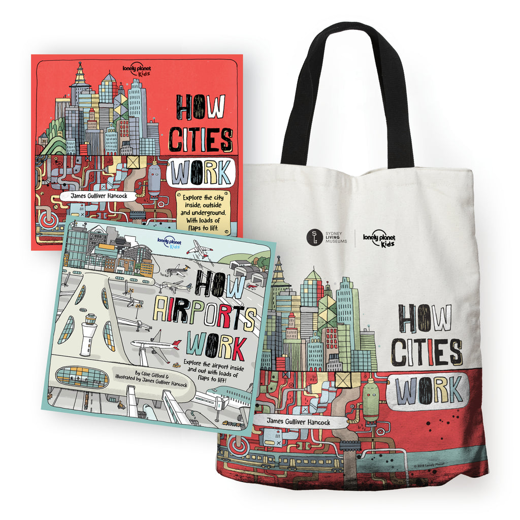 How Cities Work 3 Piece Bundle HCW Book HAW Book HCW Tote